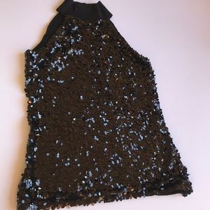 INC International Concepts Tops - INC international concepts turtle neck sequin top